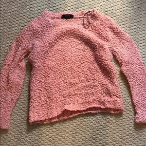 Forever 21 peach sweater